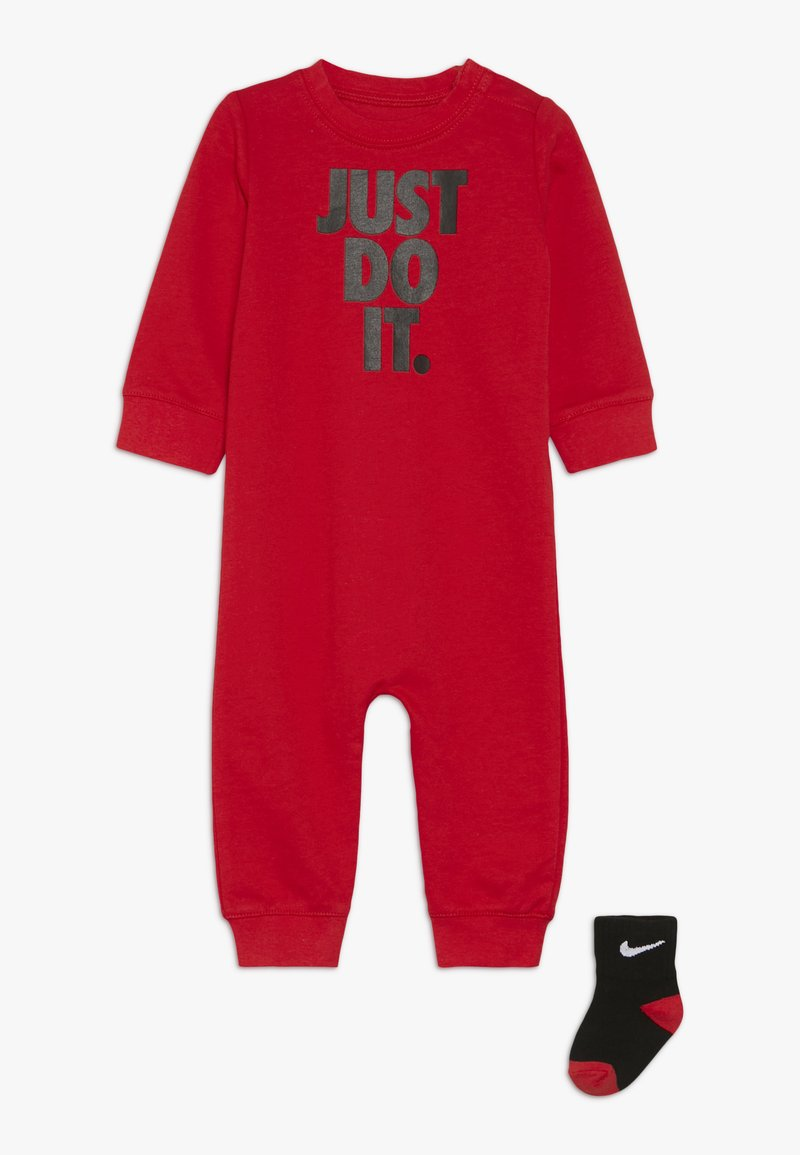 Nike Sportswear - ICON COVERALL BABY SET - Nattdräkt - university red