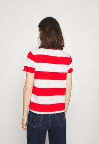 GANT - STRIPED NAUTICAL - Print T-shirt - lava red - 2