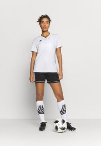 adidas Performance - SQUAD - Sports shorts - black/white - 1