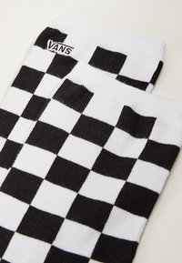 Vans - WM TICKER SOCK (6.5-10, 1PK) - Socks - black checkerboard - 2
