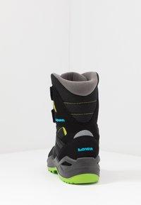 Lowa - MADDOX WARM GTX - Winter boots - black/lime - 4