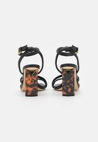 MICHAEL Michael Kors - HAZEL ANKLE STRAP - Sandals - black - 3