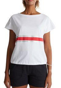 Esprit Sports - Print T-shirt - white - 4