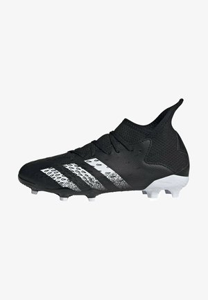 PREDATOR FREAK .3 FG UNISEX - Moulded stud football boots - core black/ftwr white/core black