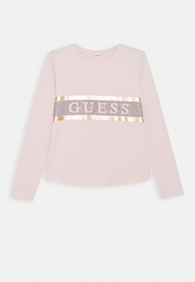 Guess - JUNIOR HIGH LOW - Longsleeve - pink sky