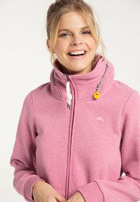 Schmuddelwedda - Zip-up hoodie - sorbetrot melange - 3