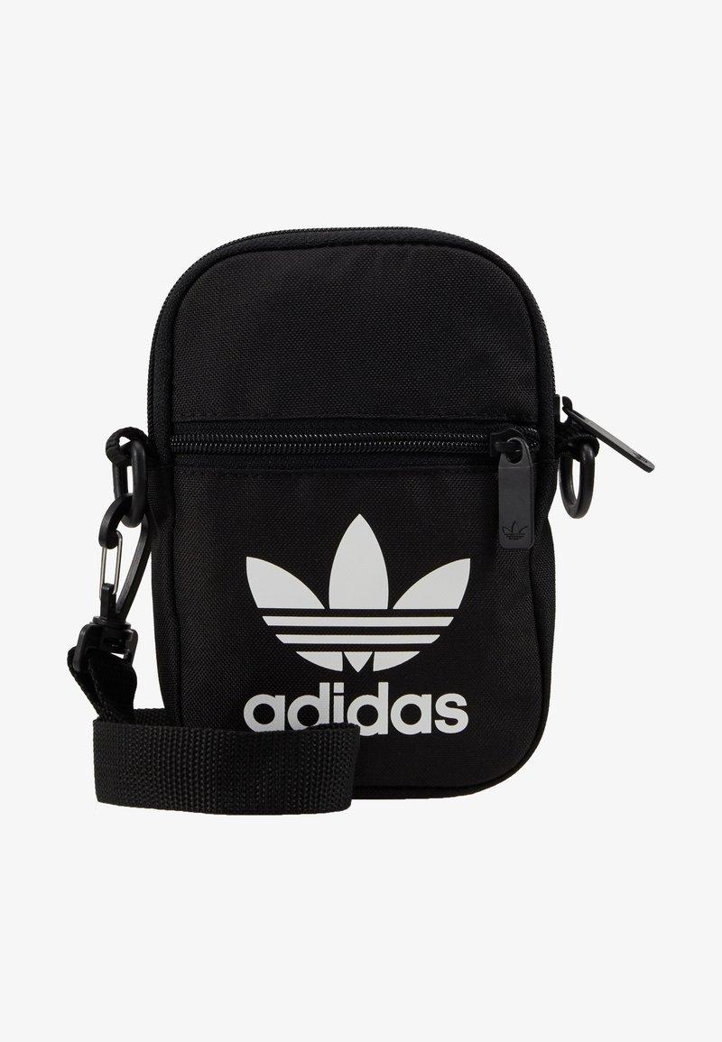 adidas Originals FEST BAG TREF - Axelremsväska - black