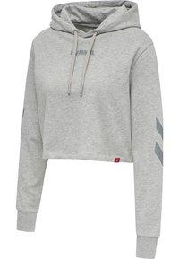 Hummel - Hættetrøjer - grey melange - 6