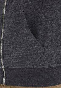 Blend - HELNO - Zip-up sweatshirt - black - 5