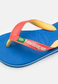Havaianas - BRASIL MIX - Pool shoes - blue star/white - 5