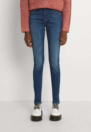 ONLPRINCE POWER PUSHUP LIFE MID BOX - Jeans Skinny Fit - dark blue denim