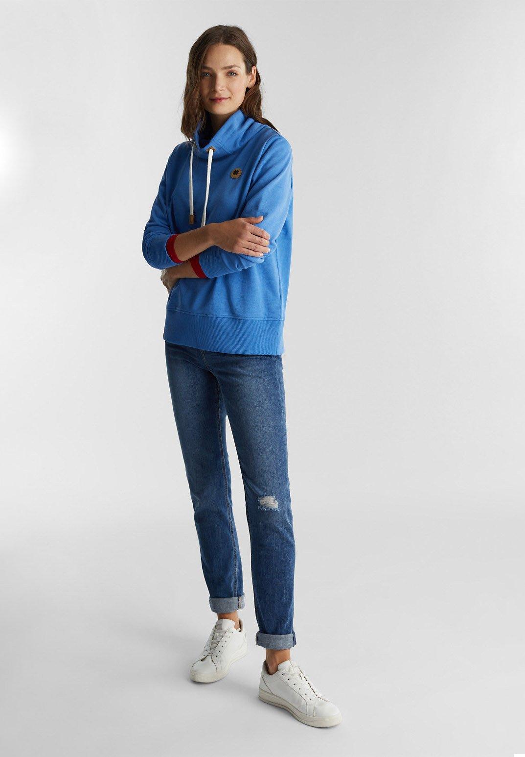 edc by Esprit Trui bright blueBlauw Zalando.nl