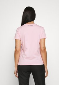 KARL LAGERFELD - MINI IKONIK BALLOON TEE - Print T-shirt - pink - 2