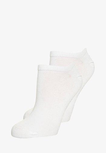 WOMEN SNEAKER 2 PACK - Socks - white
