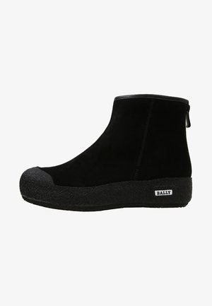 GUARD II - Wedge Ankle Boots - black