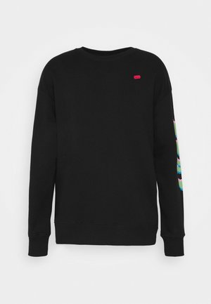 ALL NIGHTER LONG SLEEVE UNISEX - Sweatshirt - black