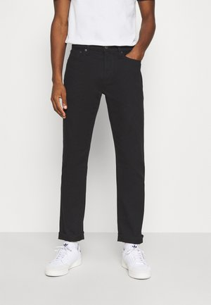 Jeans straight leg - true black