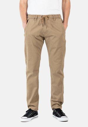 REFLEX EASY ST - Trousers - dark sand