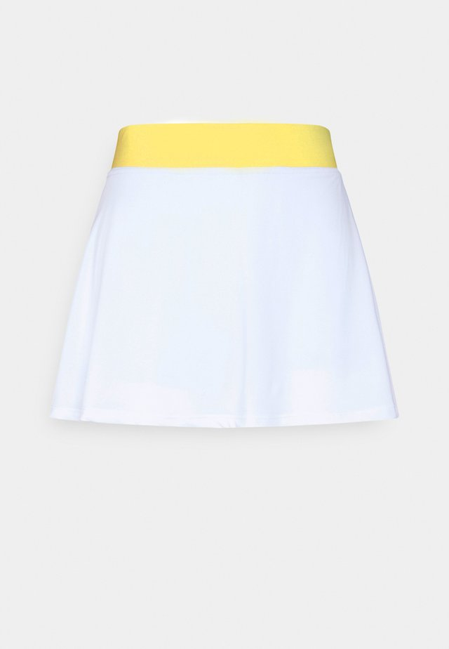 EASY TENNIS - Sports skirt - super white/tint blue