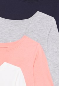 Friboo - GIRLS TEE 5 PACK - Longsleeve - light grey/pink/black - 3