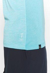 Salewa - AGNER HYBRID DRI TANK - T-shirt de sport - maui blue melange - 4