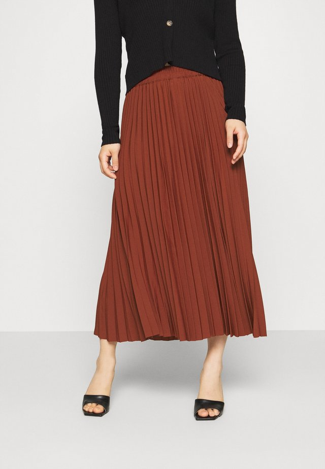 ALEXIS  - A-line skirt - red