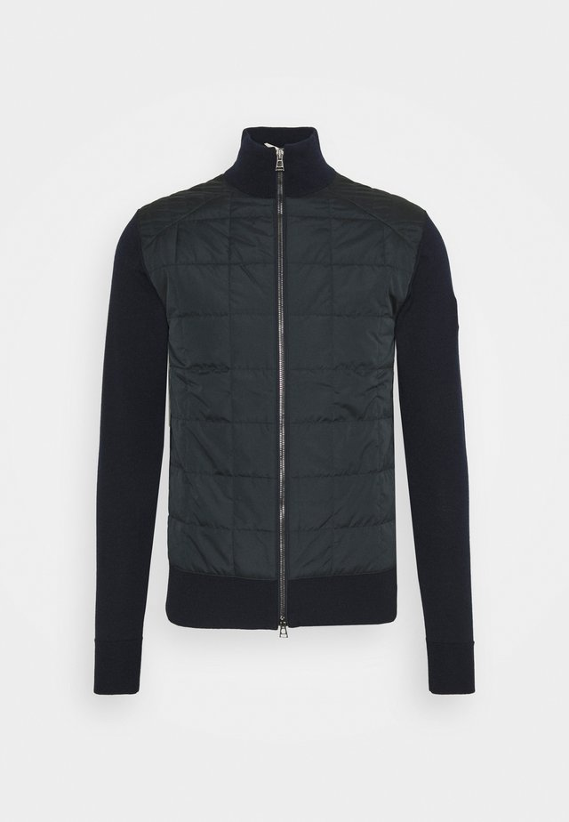 NEW KELBY ZIP CARDIGAN - Veste mi-saison - washed navy