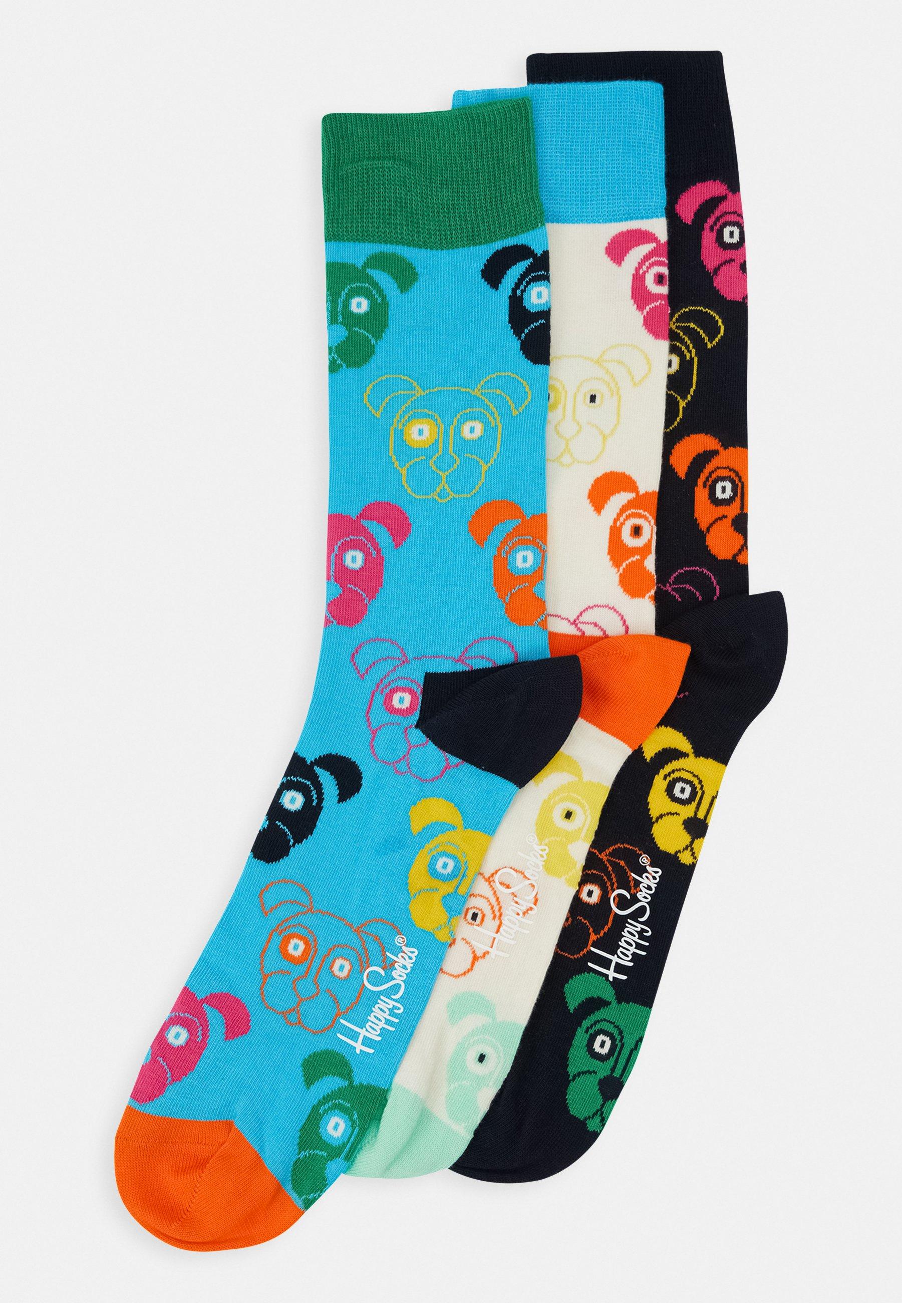 Women MIXED DOG SOCKS GIFT SET 3 PACK - Socks