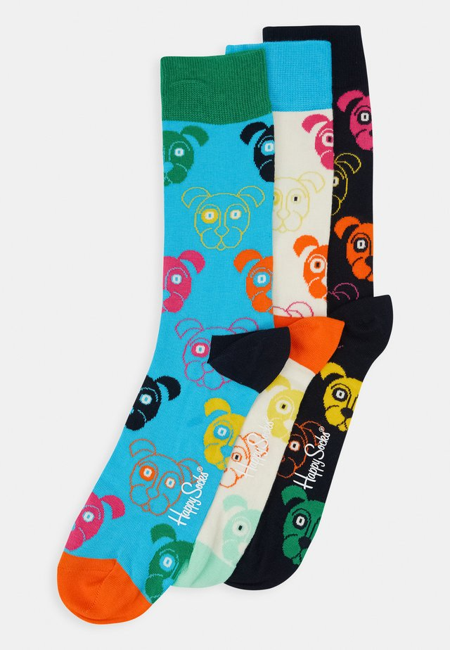 MIXED DOG SOCKS GIFT SET 3 PACK - Ponožky - multi