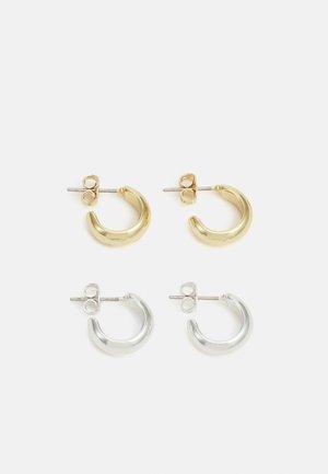 EARRING 2 PACK - Korvakorut - gold- and silver-coloured