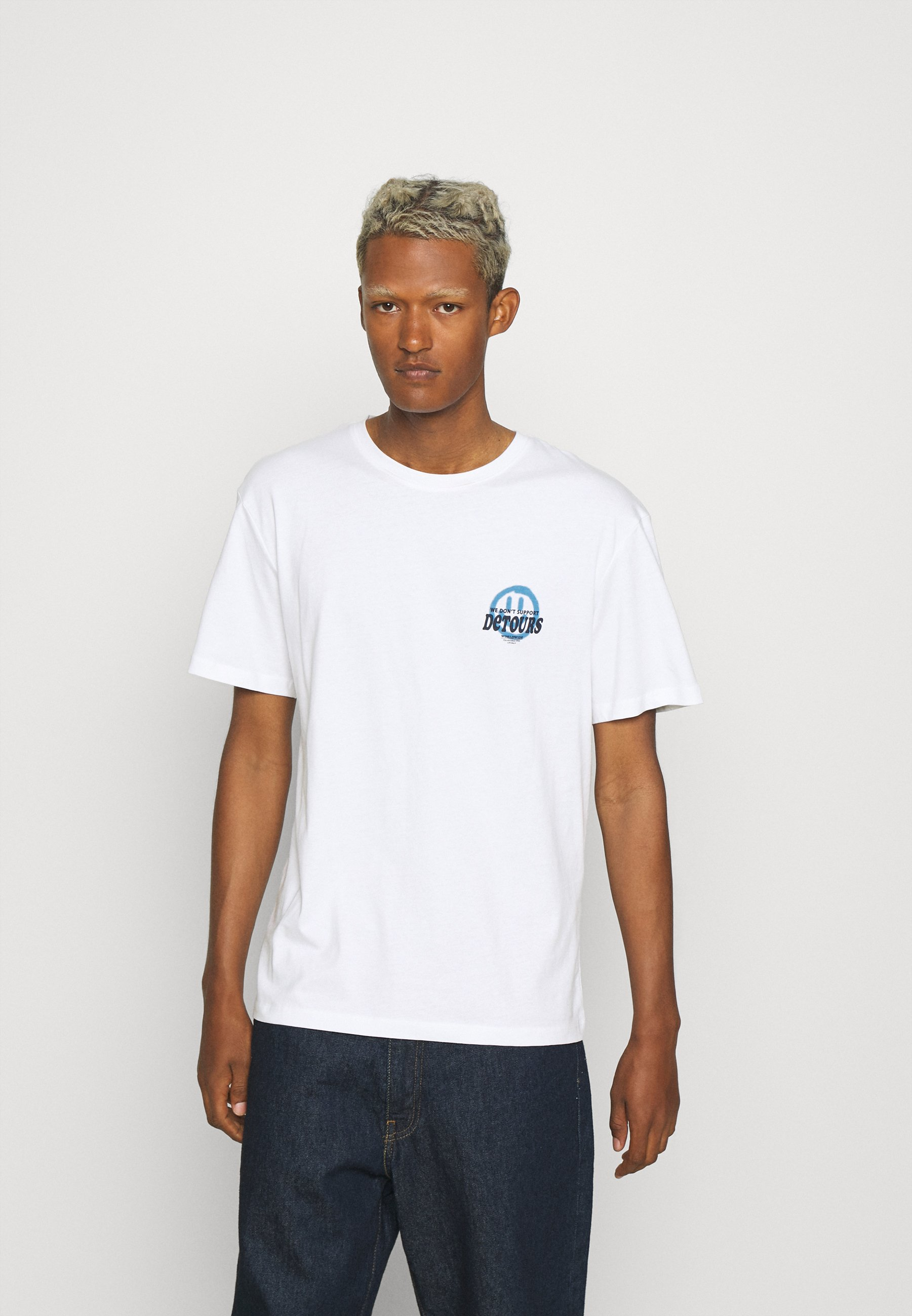 Men JORBLURRY TEE CREW NECK - Print T-shirt