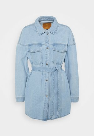ONLSOPHIA LIFE SHIRT JACKET - Džínová bunda - light blue denim