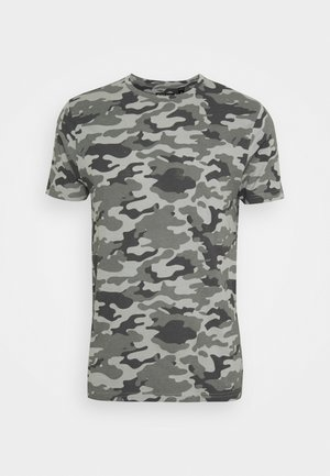 DISGUISEF - T-shirt imprimé - grey