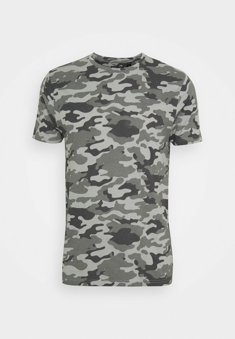 Brave Soul - DISGUISEF - Print T-shirt - grey