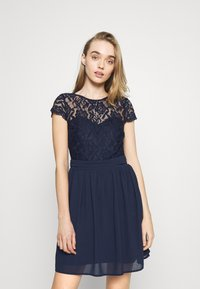 Nly by Nelly - MAKE ME HAPPY - Cocktail dress / Party dress - navy - 0