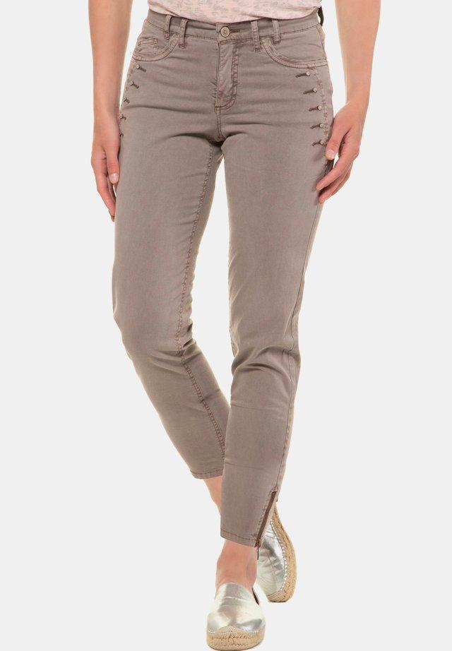 Slim fit jeans - eisengrau