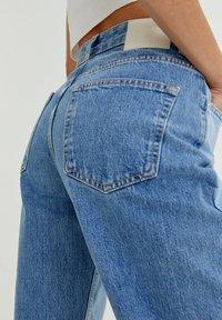 PULL&BEAR - Jeans straight leg - light blue - 4