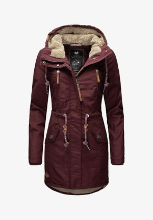 Winter coat - dark red