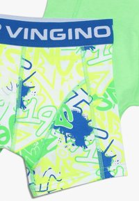 Vingino - GRAFITY 3 PACK - Pants - neon green - 4