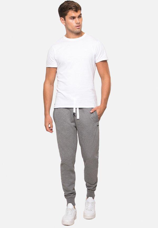 Threadbare Spodnie treningowe - grey marl/szary Odzież Męska ALLW