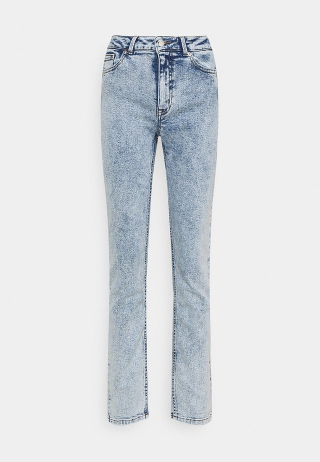 ONLERICA LIFE MID  - Straight leg jeans - light medium blue denim