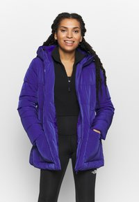 Champion - HOODED JACKET ROCHESTER - Winter jacket - royal blue - 0