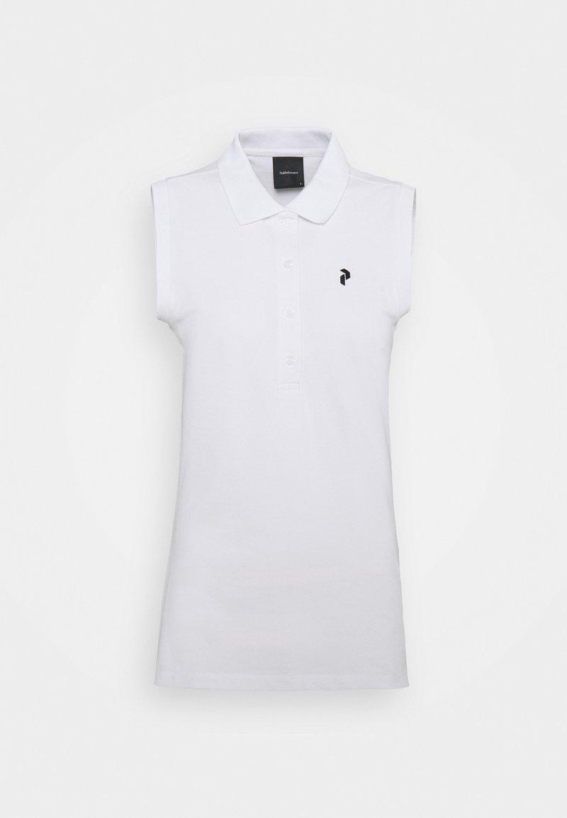 Peak Performance - CLASSIC POLO - Polo shirt - white