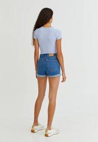 PULL&BEAR - T-shirt print - blue - 2
