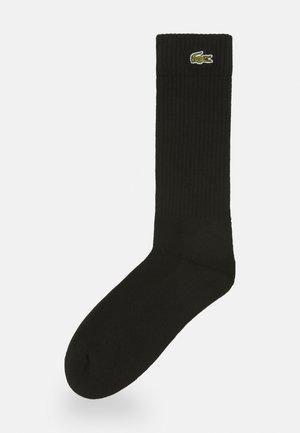 TENNIS SOCK UNISEX - Sports socks - black