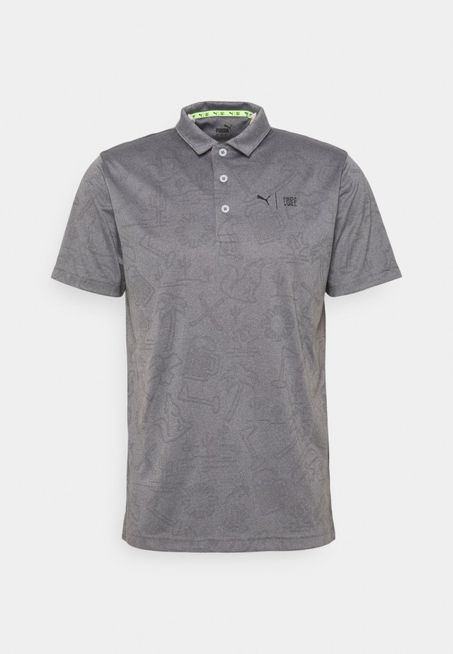 FIRST MILE FLASH - Poloshirt - quiet shade heather