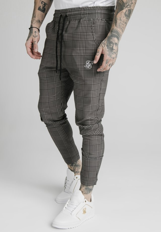 SMART JOGGER PANT - Broek - beige dogtooth