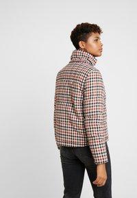 ONLY - ONLSTINA CHECK SHORT JACKET - Winter jacket - moonbeam/ketchup - 3