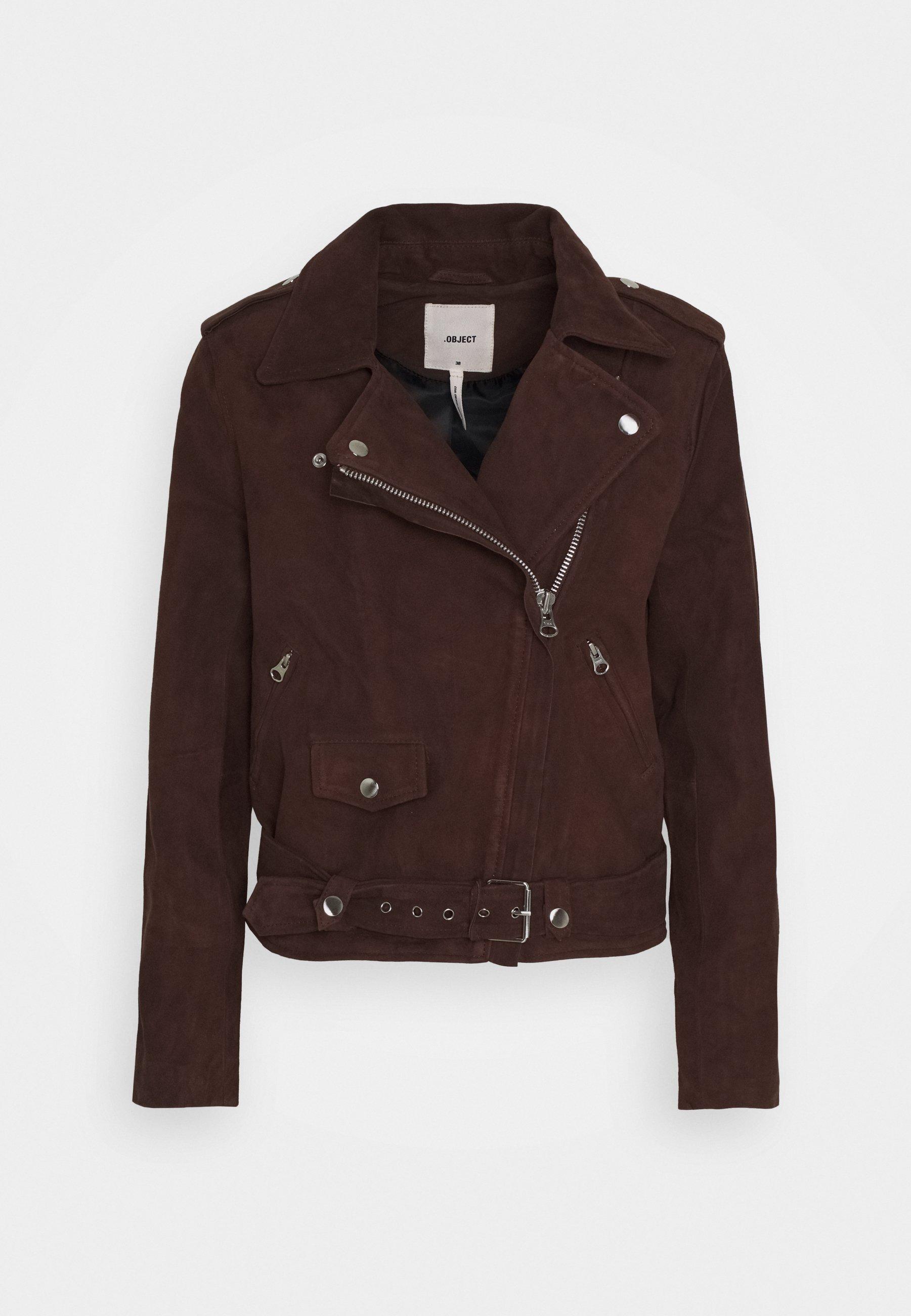 Women SEASONAL - Faux leather jacket