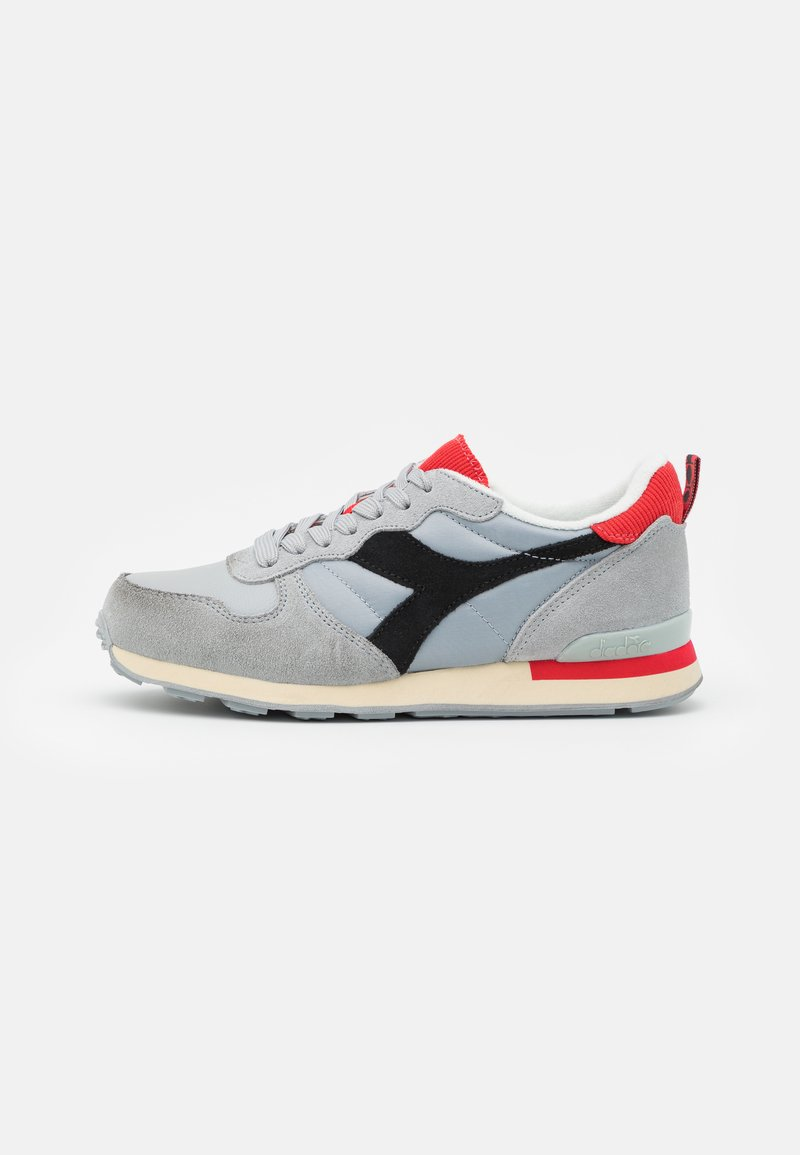 Diadora - ICONA UNISEX - Trainers - high rise/black/fiery red